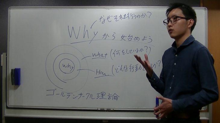 Whyから始めよう(ゴールデンサークル理論)